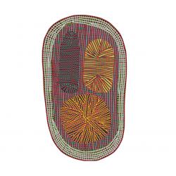 Tapis Amoeba 393 x 252 cm