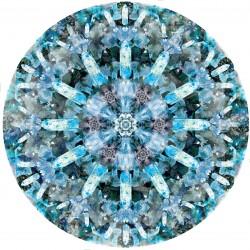 Tapis Crystal Ice ø 350 cm