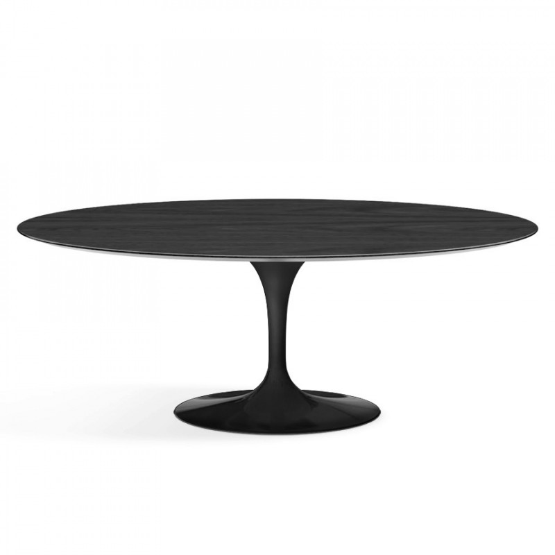 table ovale tulipe saarinen knoll. Black Bedroom Furniture Sets. Home Design Ideas