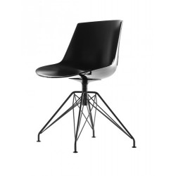 FLOW CHAIR PIED LEM METAL