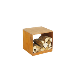 Ofyr Wood storage Hocker