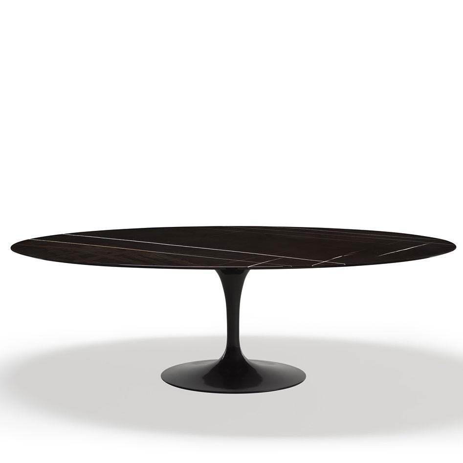 Table Ovale Tulipe Saarinen Knoll