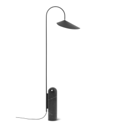 Arum Floor Lampe Black