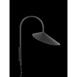 Arum wall Lampe Black