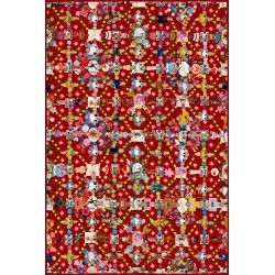Tapis Obesession Red 300 x 200 cm