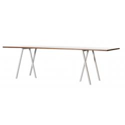 Table Loop Hay - 200cm - White
