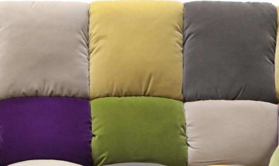 Multicolor Velvet